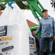 Dünger in Big Bags - Dünger sicher und einfach in den Streuer füllen