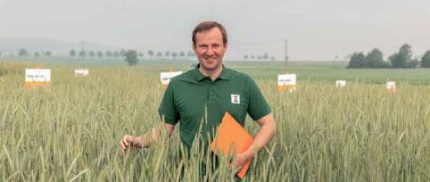Kristof Stolze, Produktmanager Roggen, KWS LOCHOW GMBH