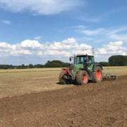 Bodenbearbeitung für Zwischenfrucht